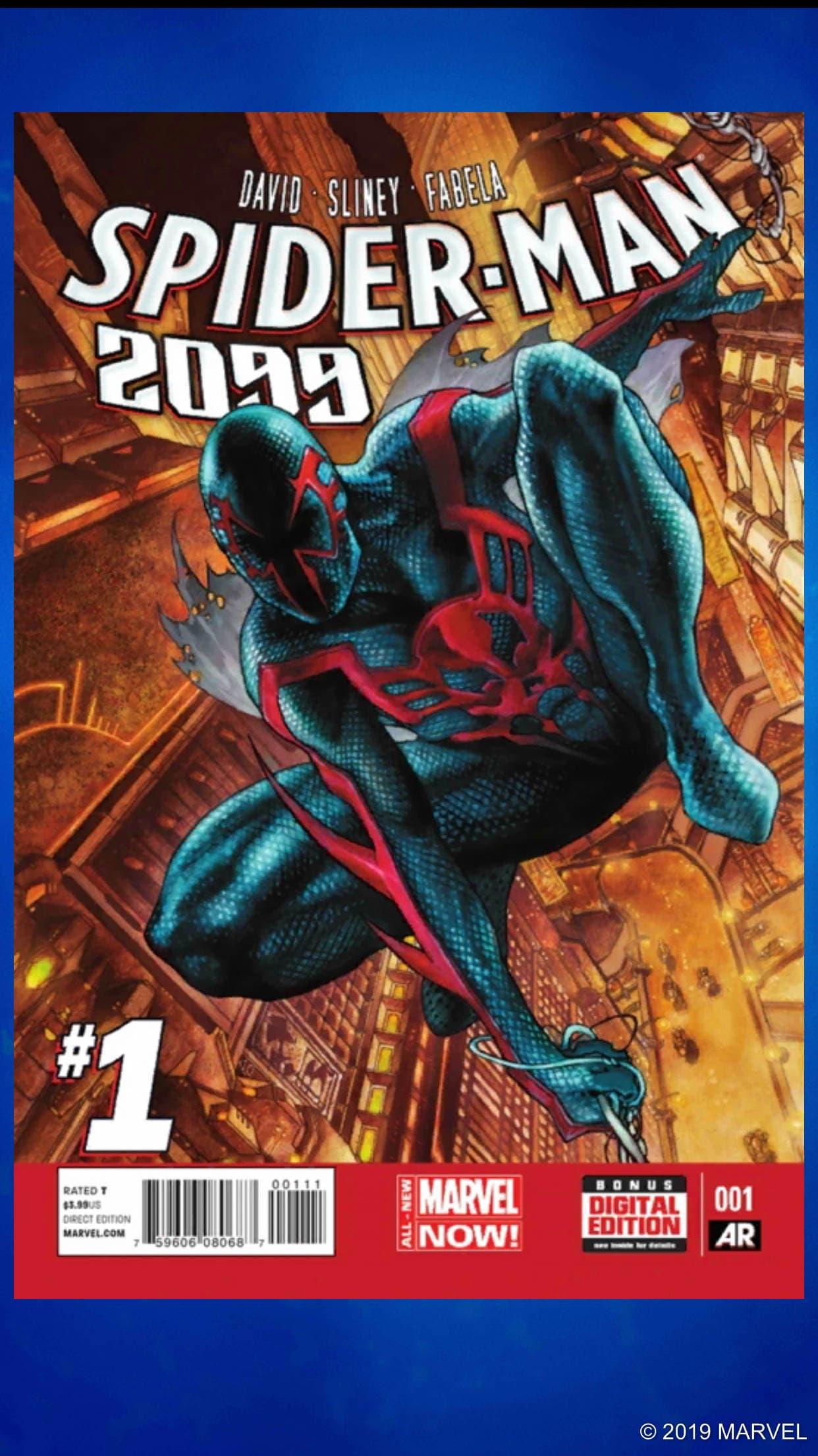 Spider-Man 2099 Puzzle Quest