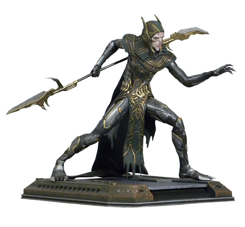 Marvel Movie Gallery Avengers Infinity War Corvus Glaive PVC Diorama
