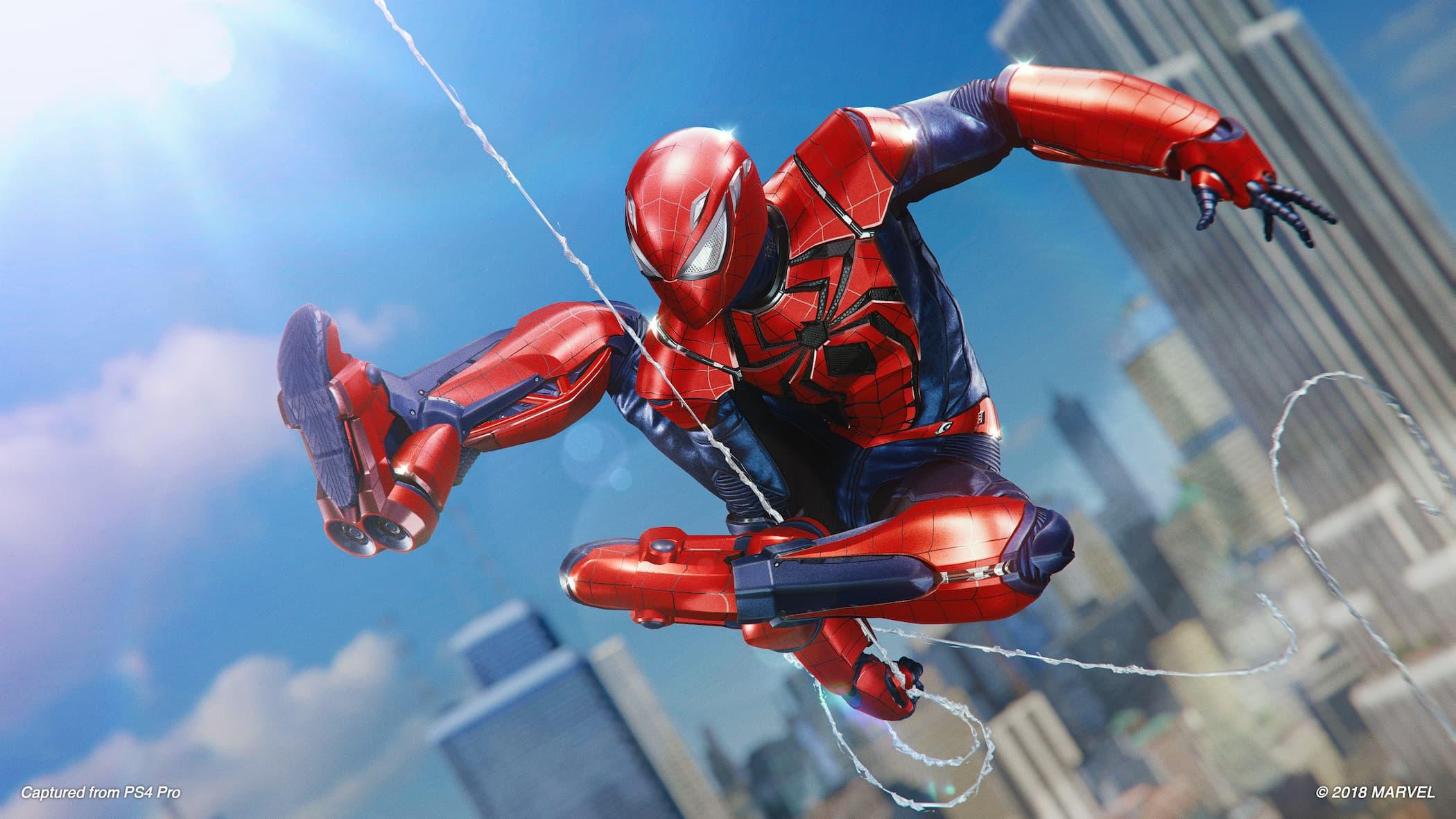 Marvel's Spider-Man: Silver Lining - Aaron Aikman Spider-Armor