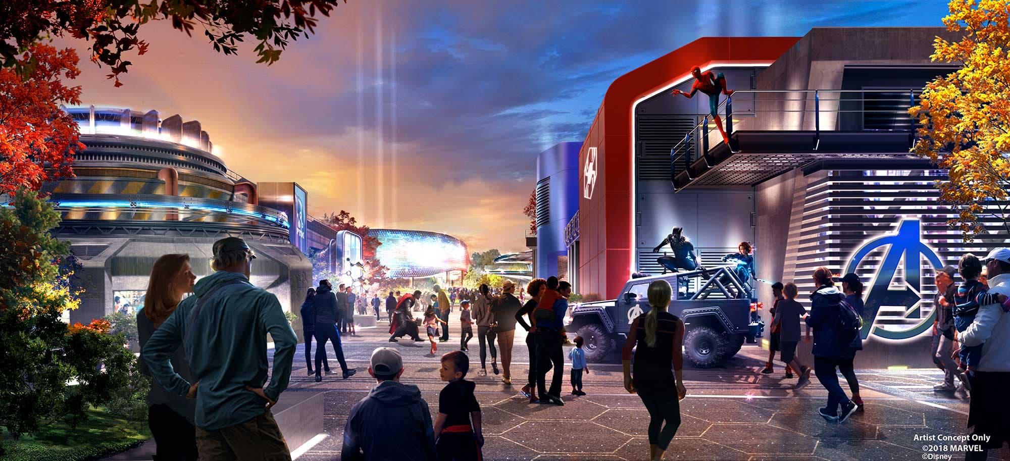 Artist Concept for Disneyland Paris