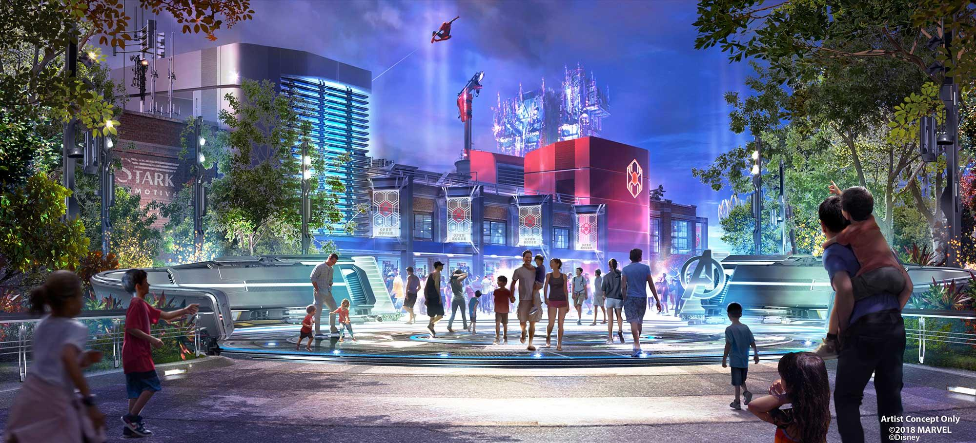 Artist Concept for Disney California Adventure