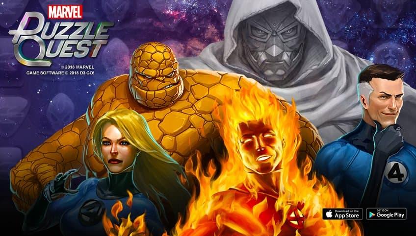Marvel Puzzle Quest - Fantastic Four