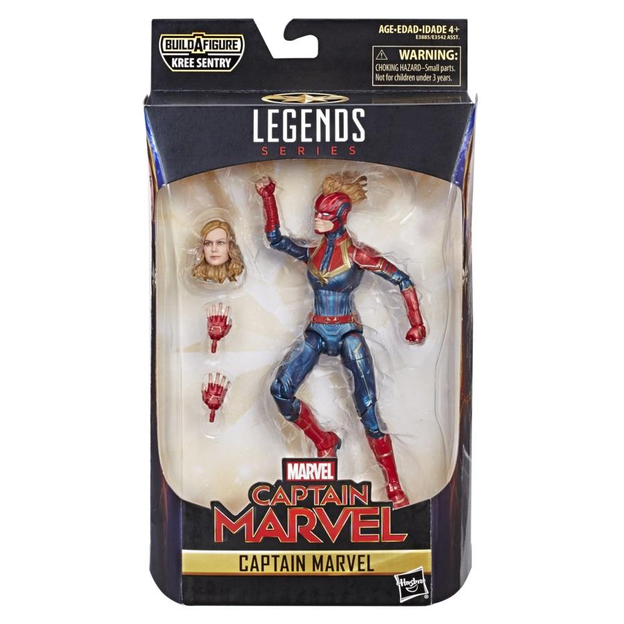 MARVEL CAPTAIN MARVEL LEGENDS SERIES 6-INCH FIGURE