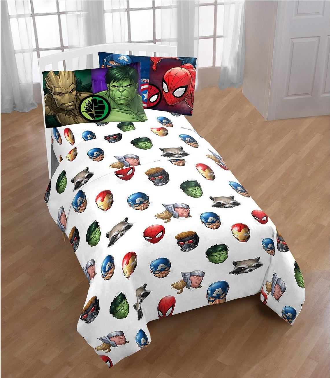 Marvel Avengers Twin 3-piece Sheet Set