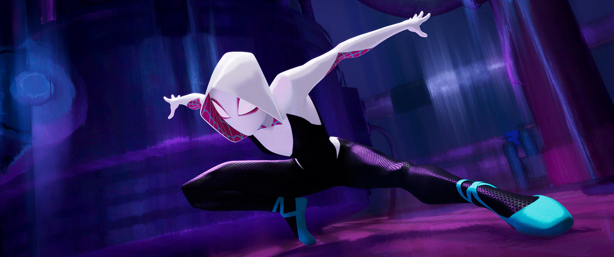 "Spider-Gwen in ""Spider-Man:Into the Spider-Verse"""