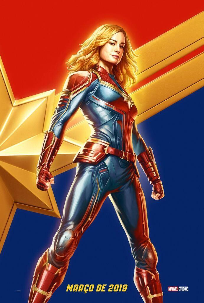 Captain Marvel Brazil CCXP Exclusive Poster