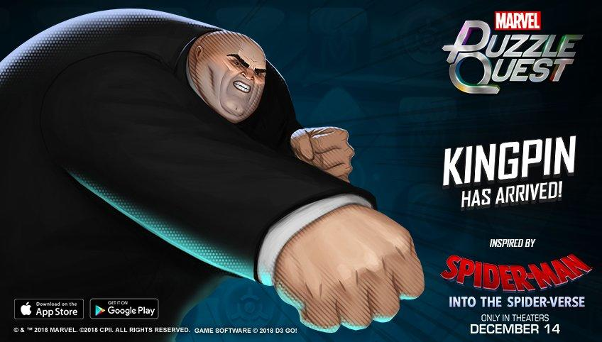Marvel Puzzle Quest - Kingpin (Spider-Verse)