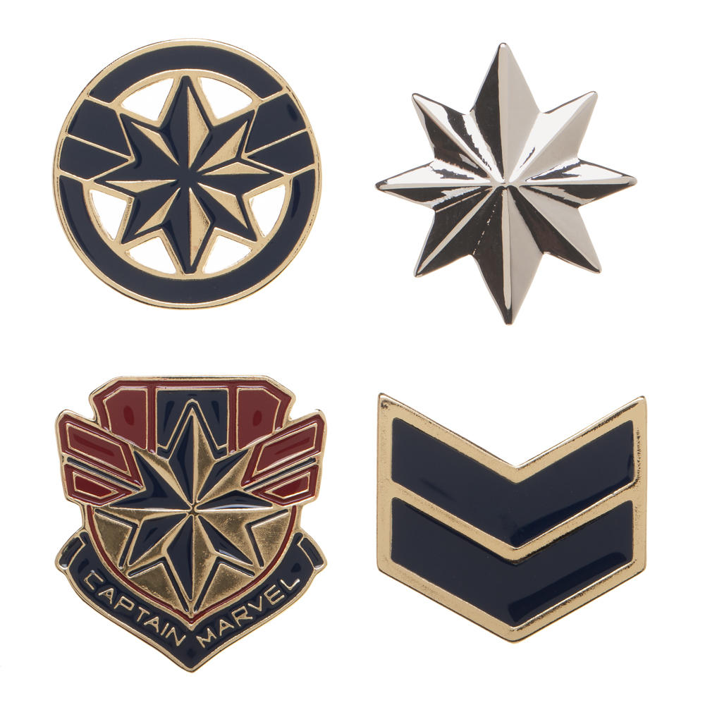 Captain Marvel Pins