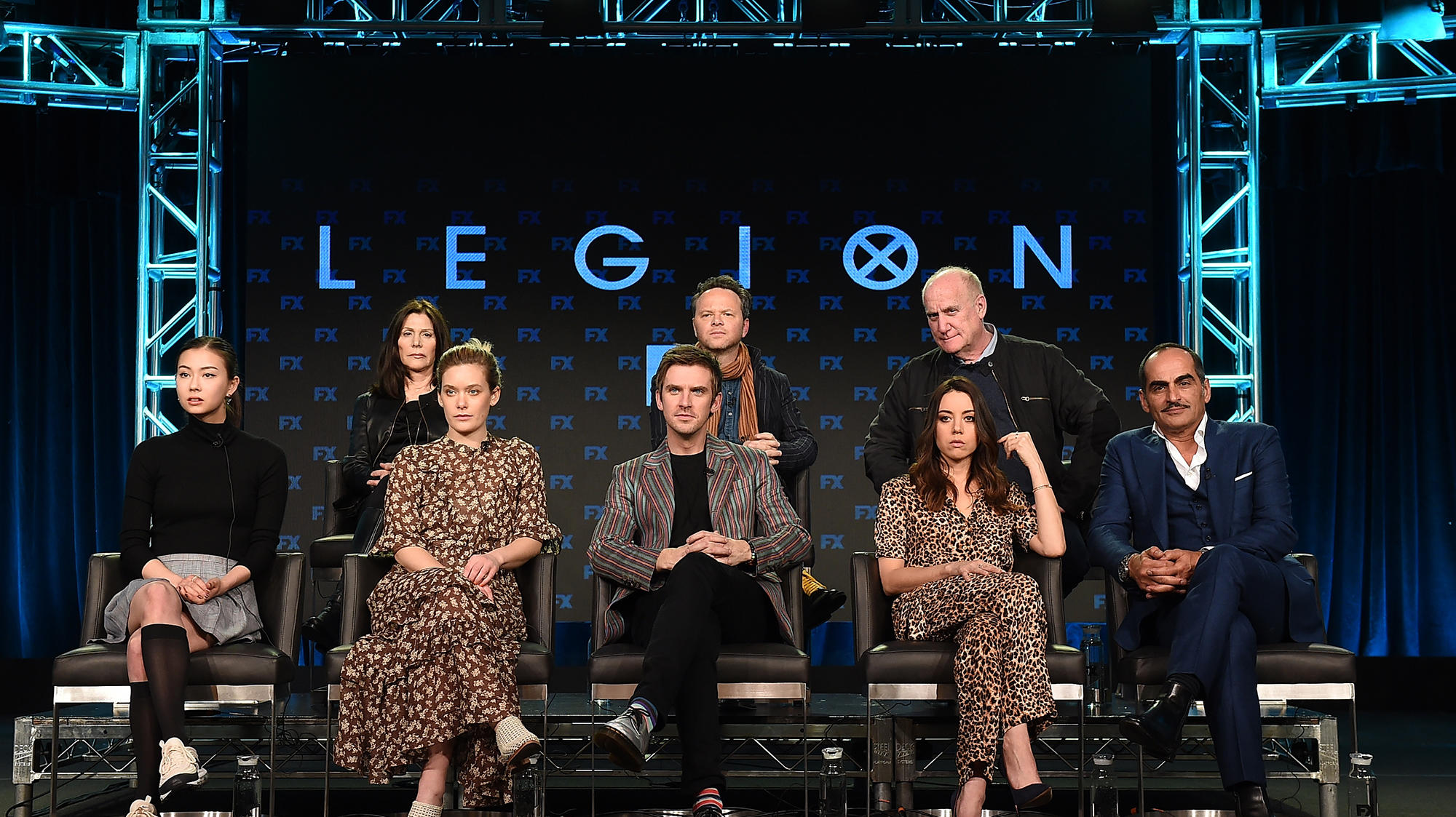 """Legion"" Executive Producers and cast members at the 2019 TCA winter press tour"