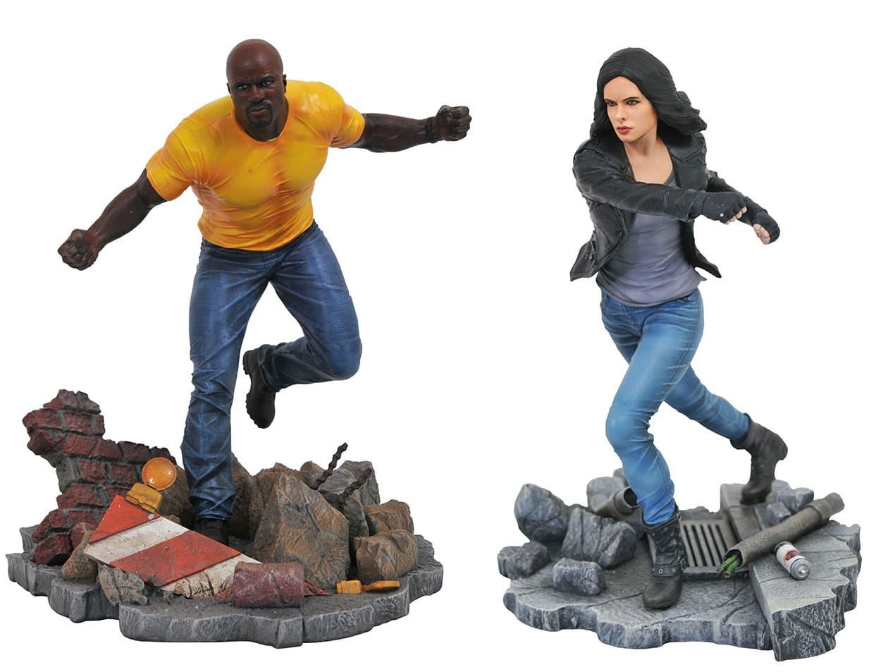 Marvel TV Gallery Defenders PVC Dioramas