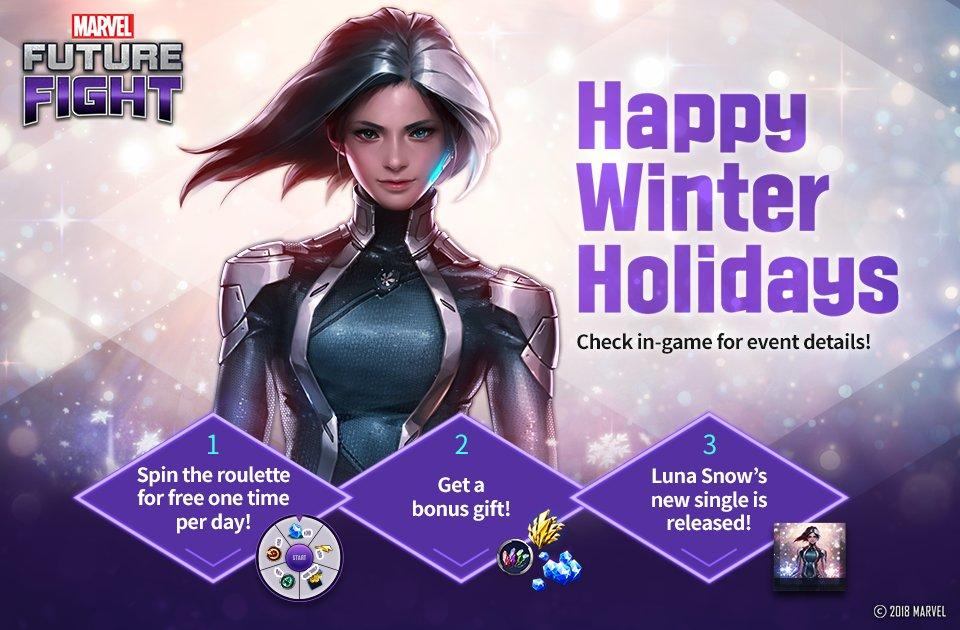 Marvel Future Fight - Luna Snow