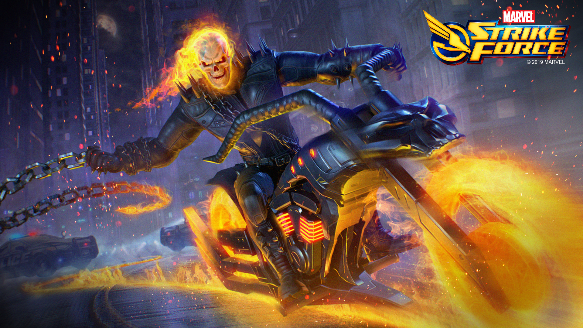 Marvel Strike Force - Ghost Rider