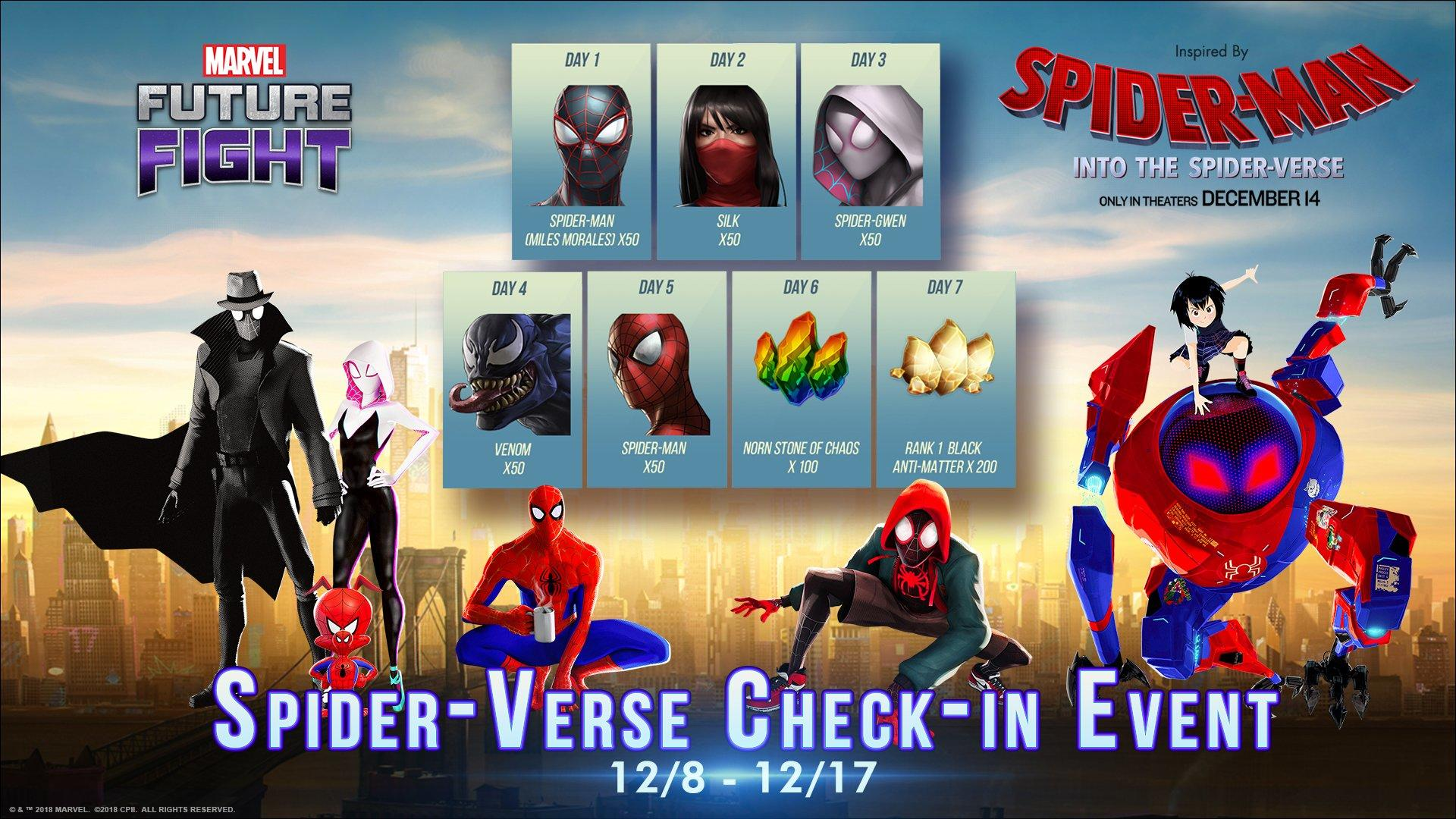 Marvel Future Fight - Spider-Man: Into the Spider-Verse