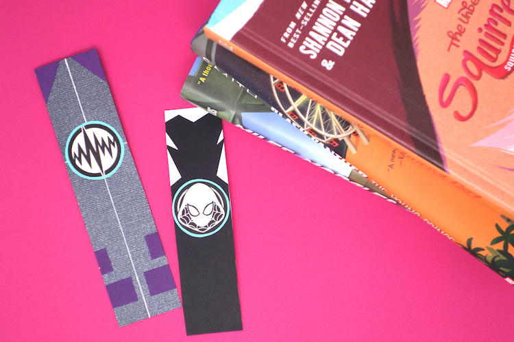 Marvel Rising bookmarks