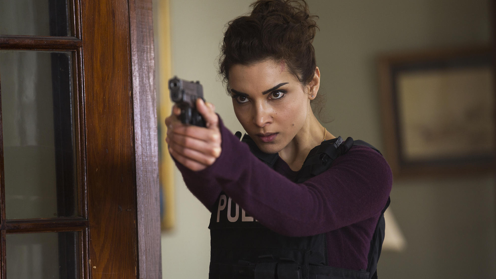"""Amber Rose Revah as Dinah Madani in """"Marvel's The Punisher"""""""