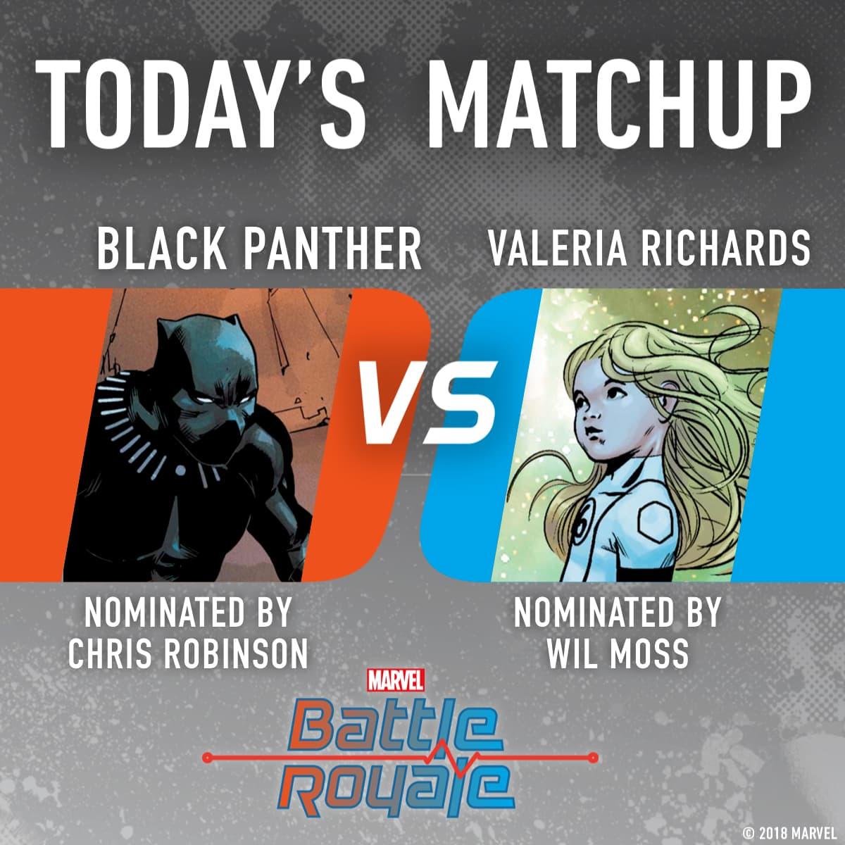 Black Panther vs. Valeria Richards