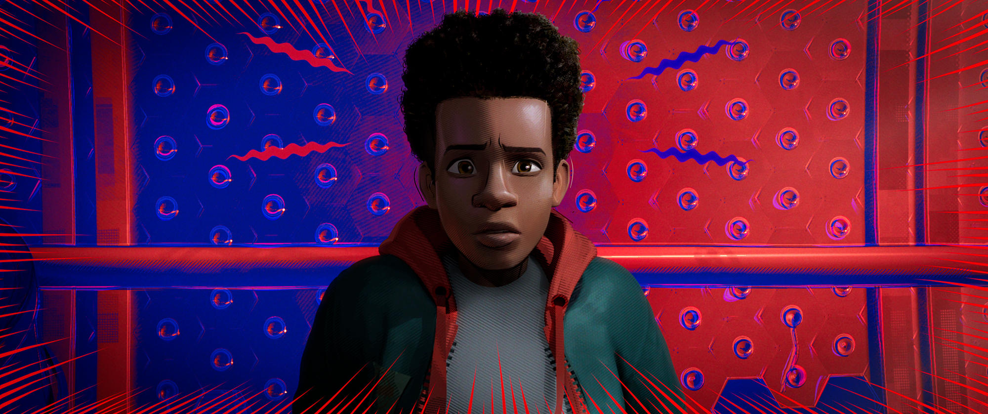"Miles Morales in ""Spider-Man: Into the Spider-Verse"""