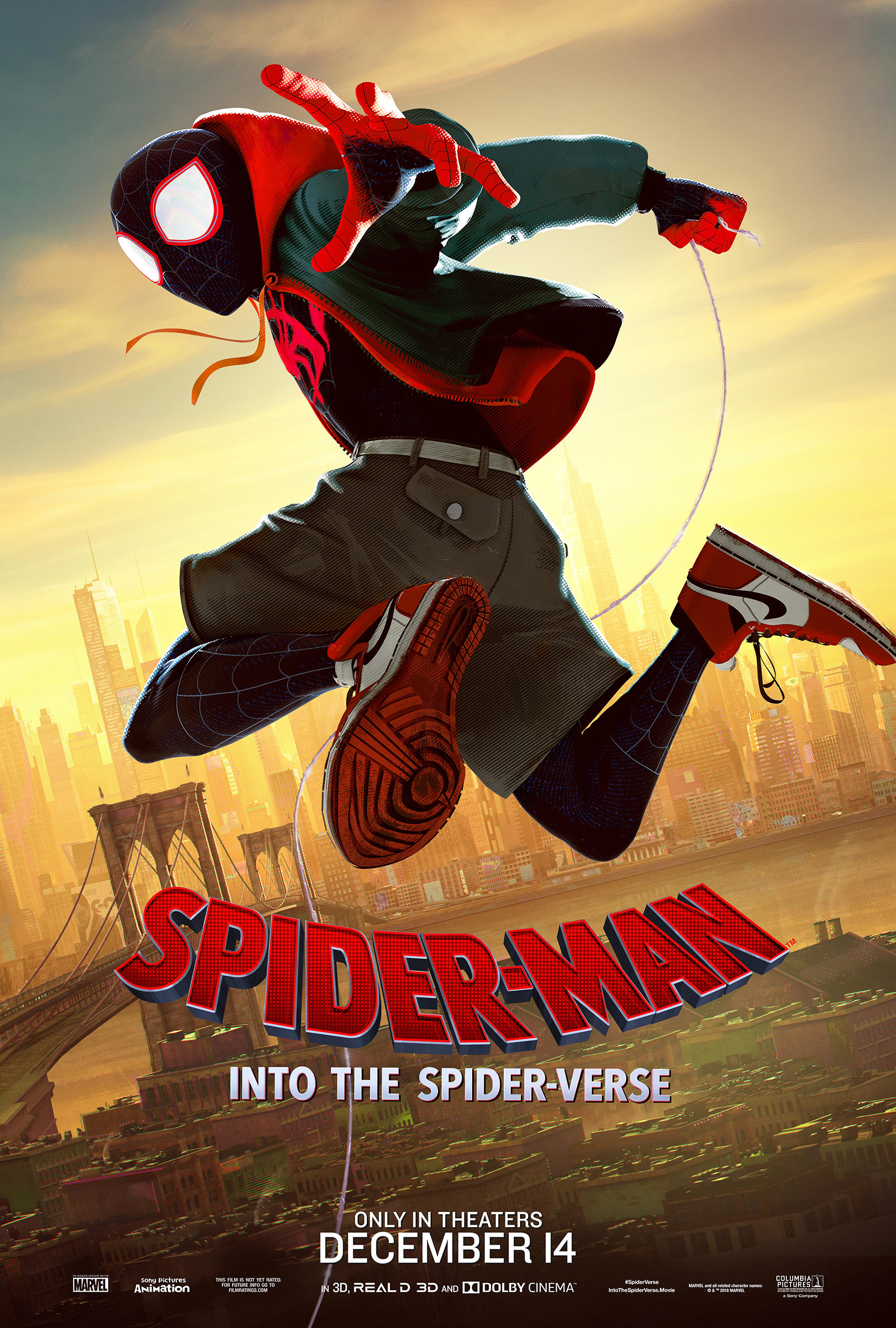 """Spider-Man: Into the Spider-Verse"" Miles Morales Poster"