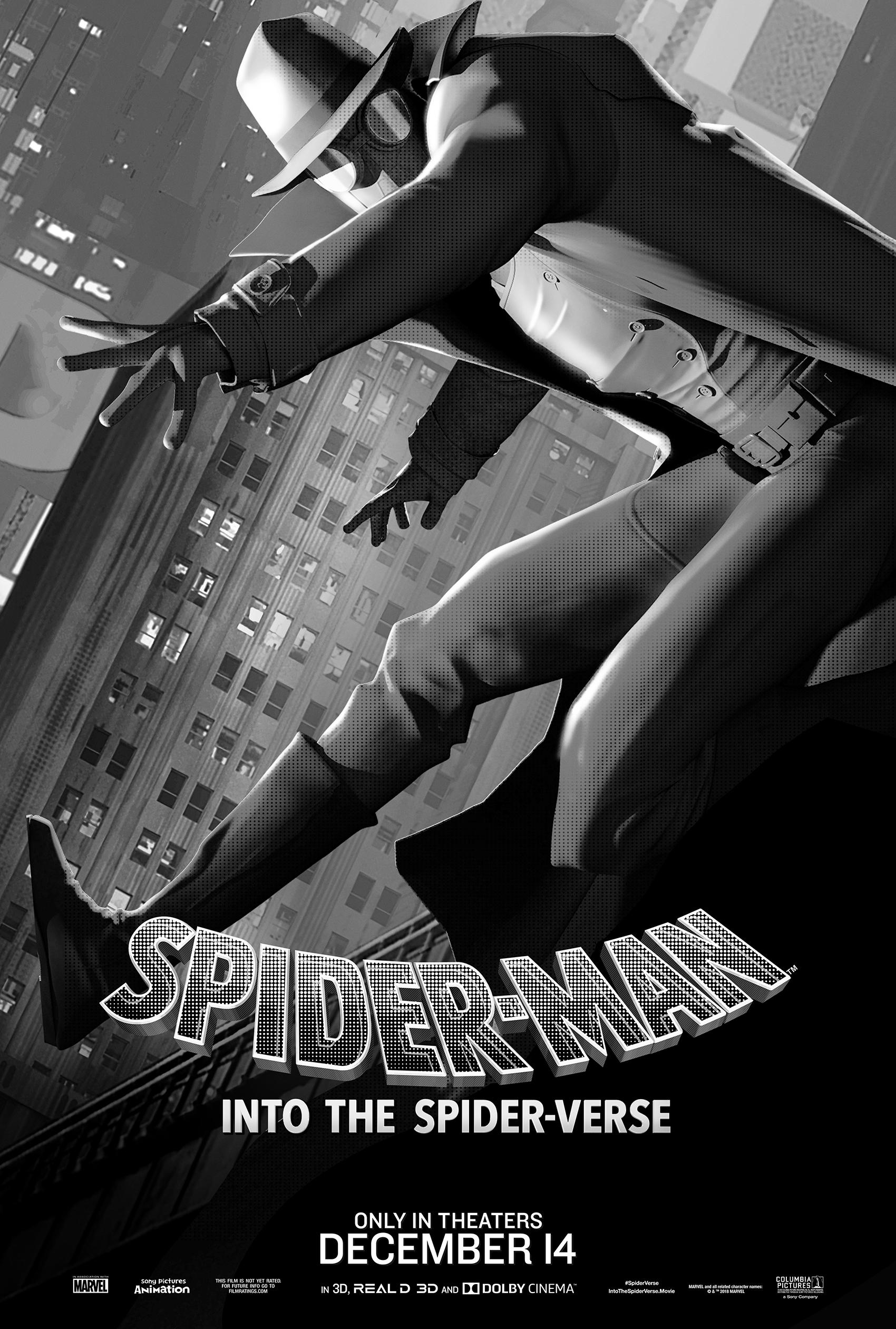 """Spider-Man: Into the Spider-Verse"" Spider-Man Noir Poster"