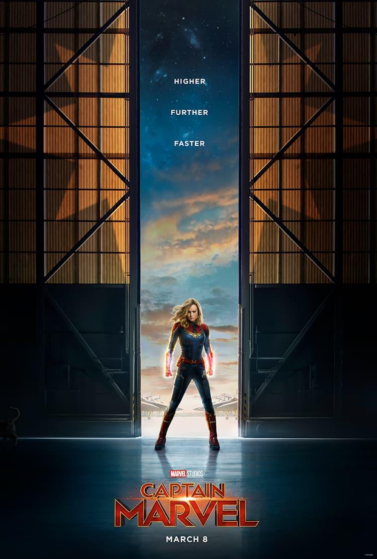 First Official Trailer For Captain Marvel - Marvel Studios 3