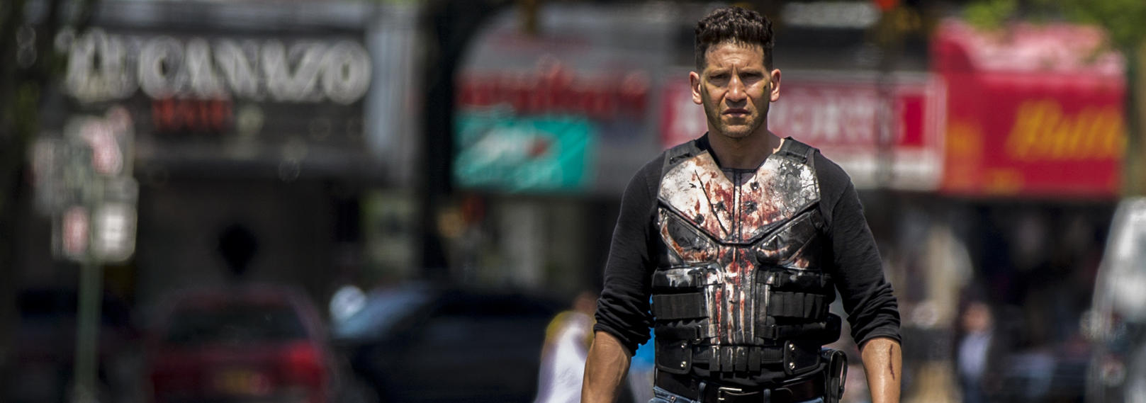 "Jon Bernthal in ""Marvel's The Punisher"""