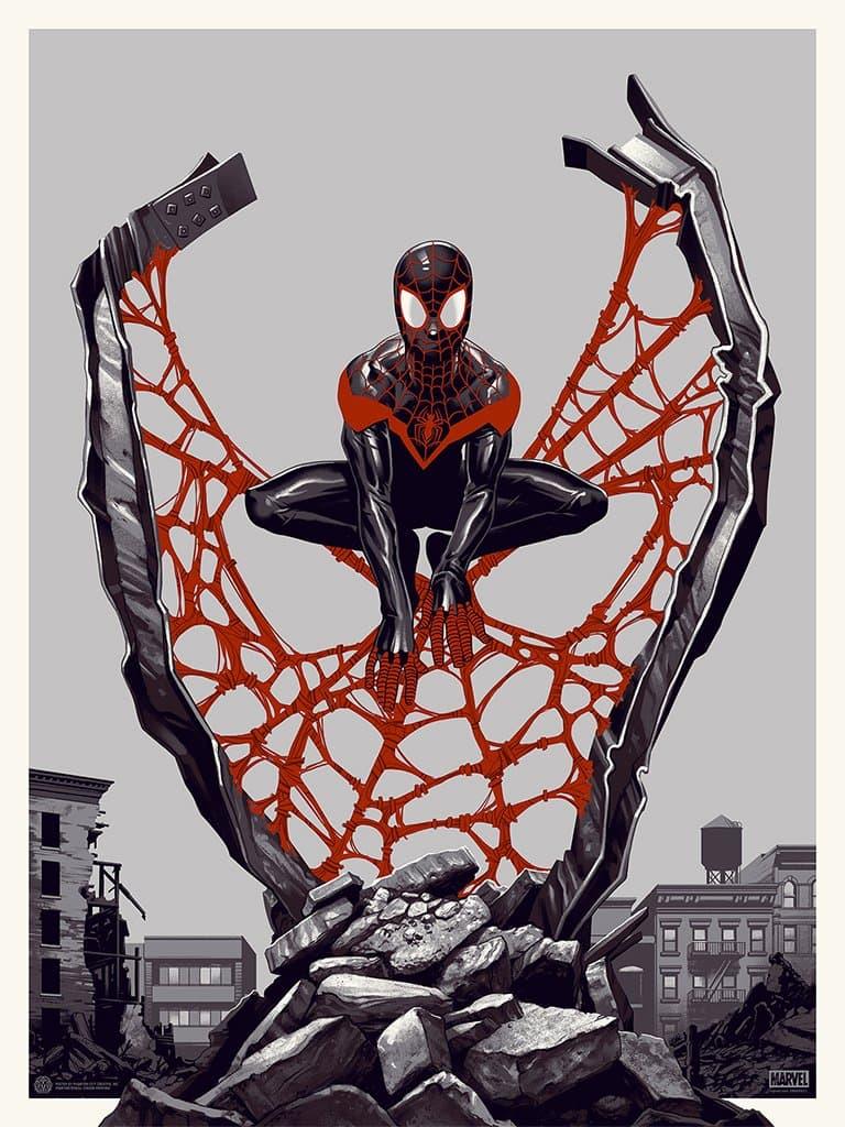 SPIDER-MAN: MILES MORALES POSTER
