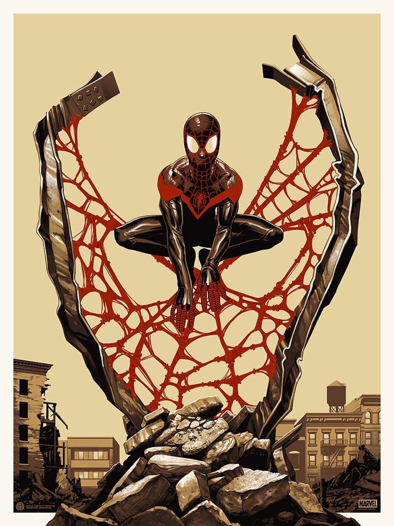 SPIDER-MAN: MILES MORALES POSTER (variant)