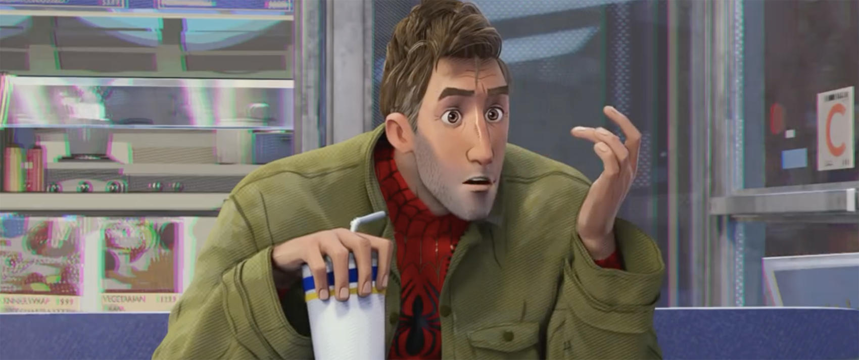 "Peter Parker in ""Spider-Man: Into the Spider-Verse"""