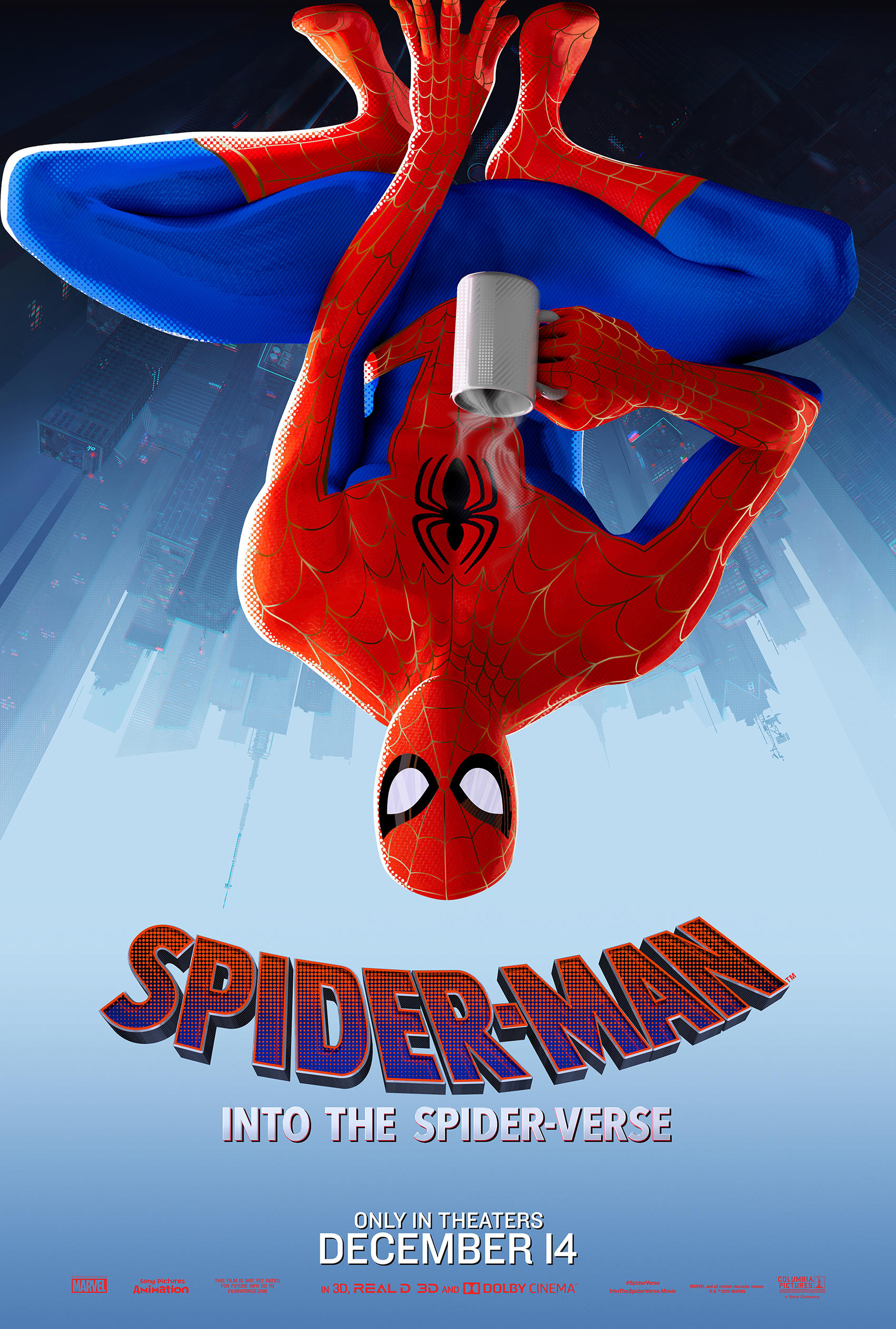 """Spider-Man: Into the Spider-Verse"" Peter Parker Poster"