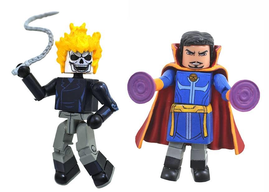 Diamond Select Ghost Rider and Doctor Strange
