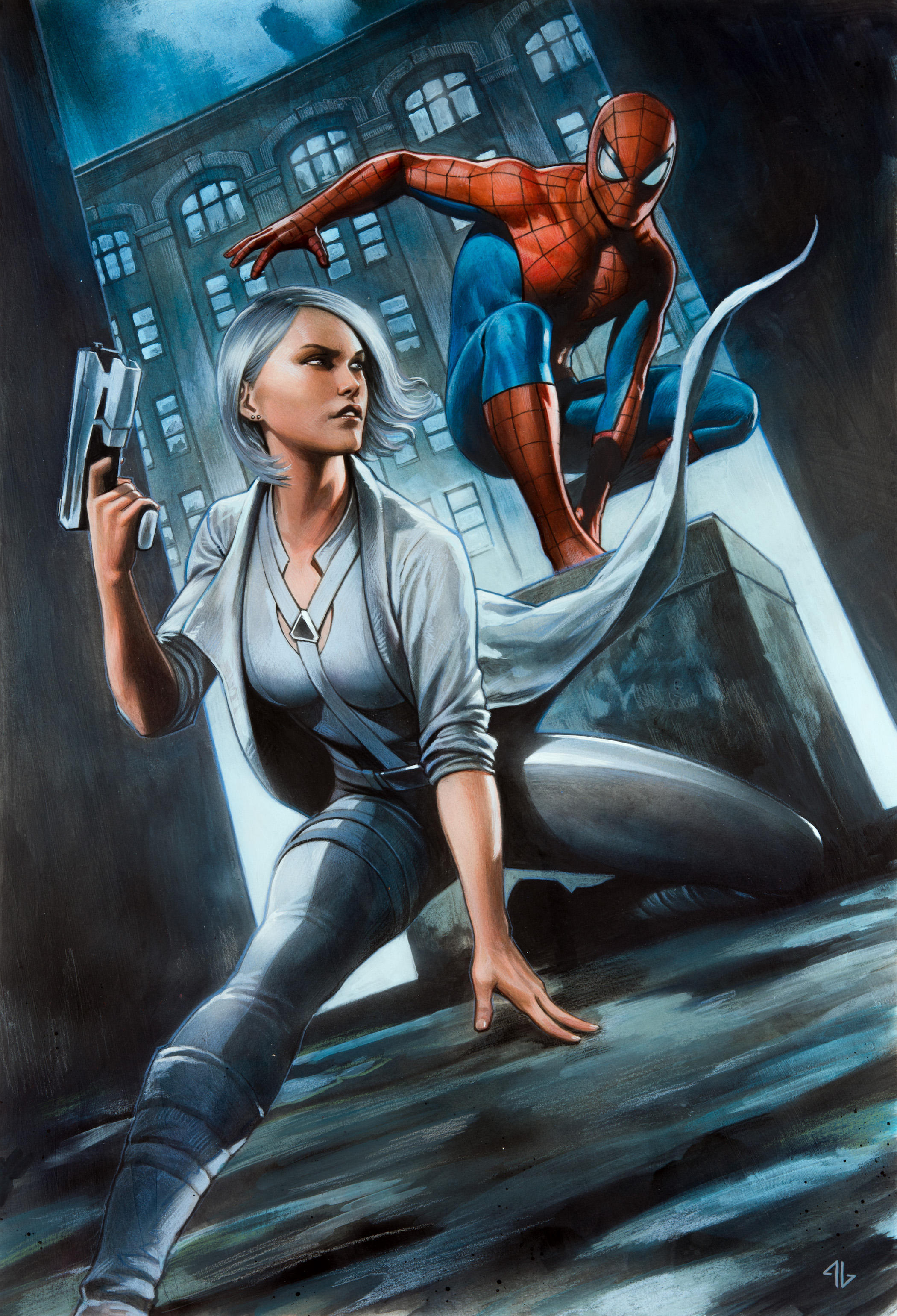 Marvel's Spider-Man: Silver Lining art by Adi Granov