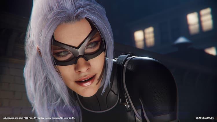 Marvel's Spider-Man: The Heist PS4 | Black Cat