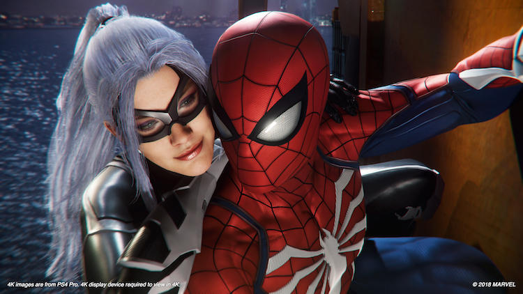 Marvel's Spider-Man: The Heist PS4 | Black Cat and Spider-Man