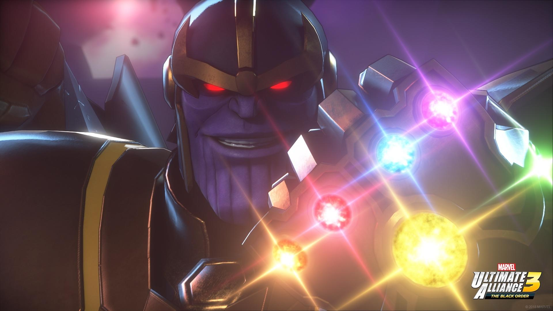 Marvel Ultimate Alliance 3 - Thanos