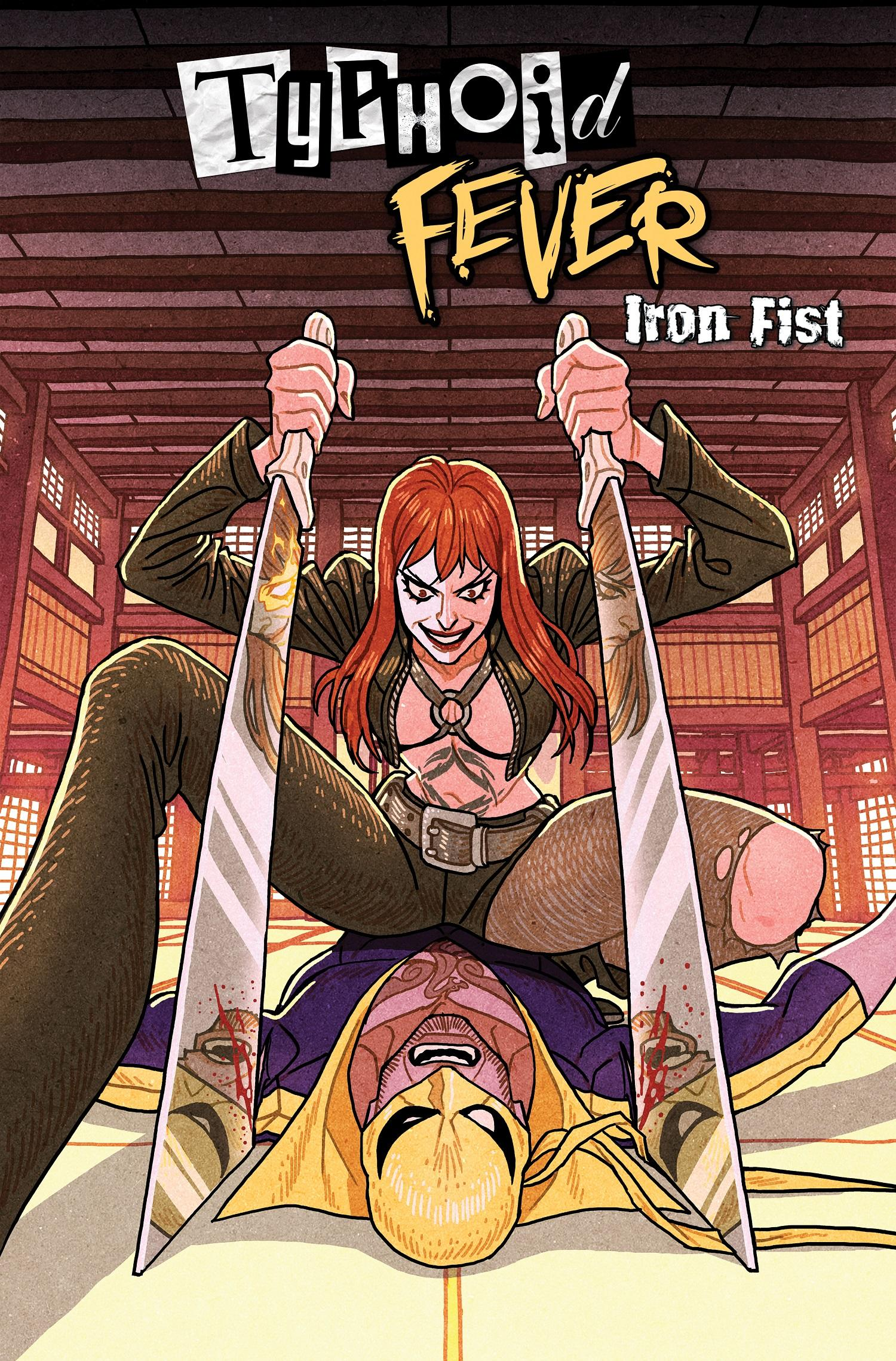 Typhoid Mary: Iron Fist #1 Variant art by Afu Chan