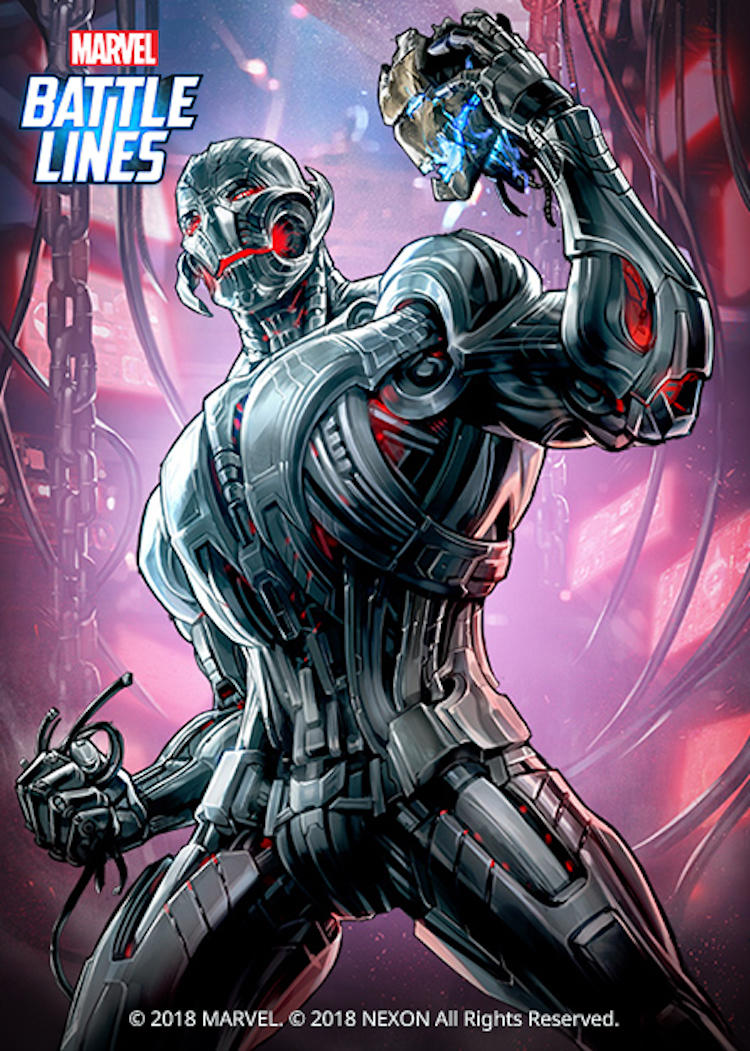 Marvel Battle Lines - Ultron
