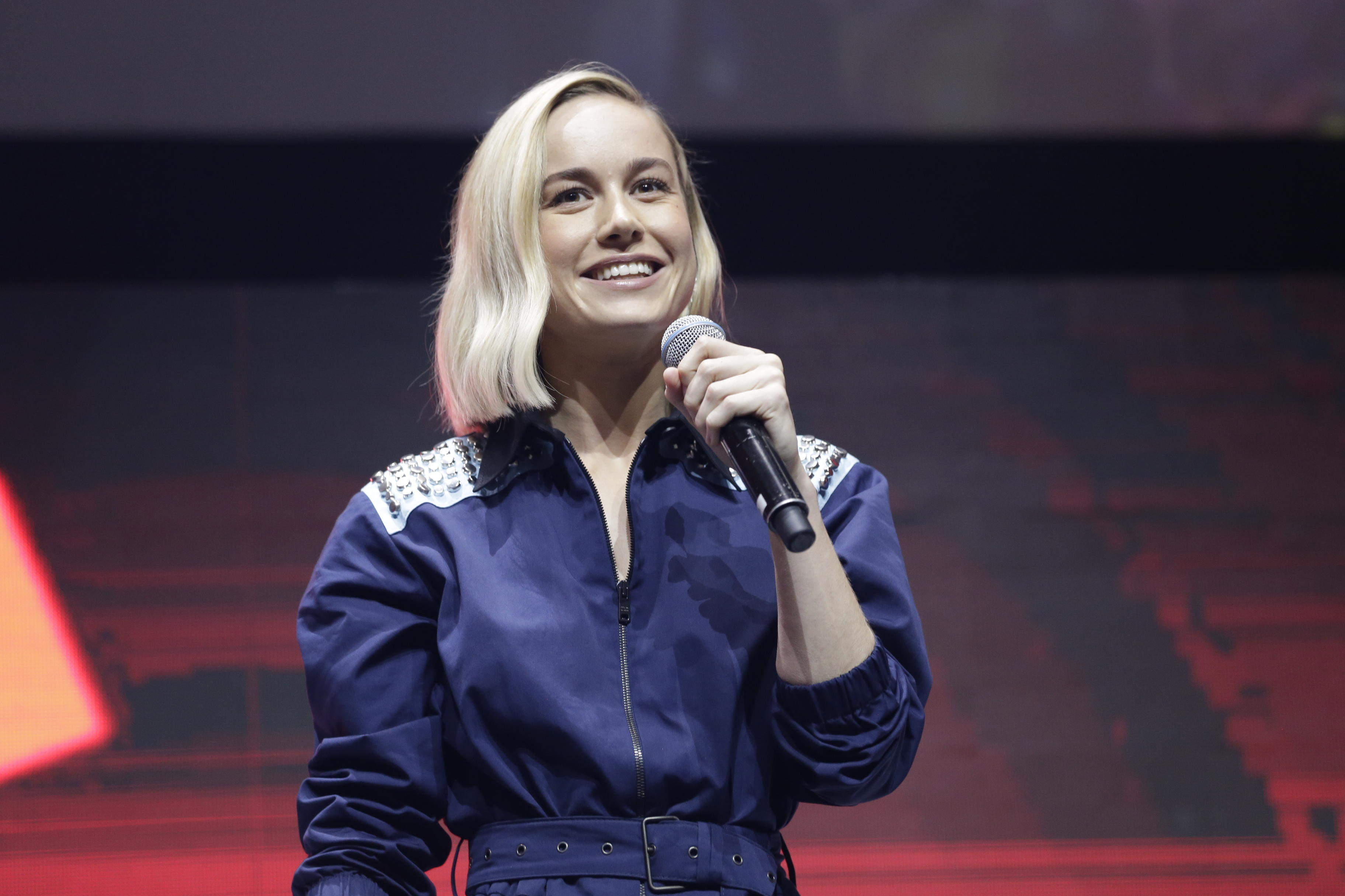 Brie Larson at CCXP18 in São Paulo