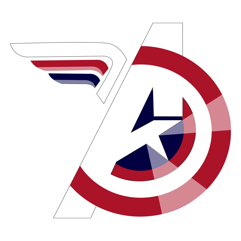 Avengers logo design by Solomon Swerling