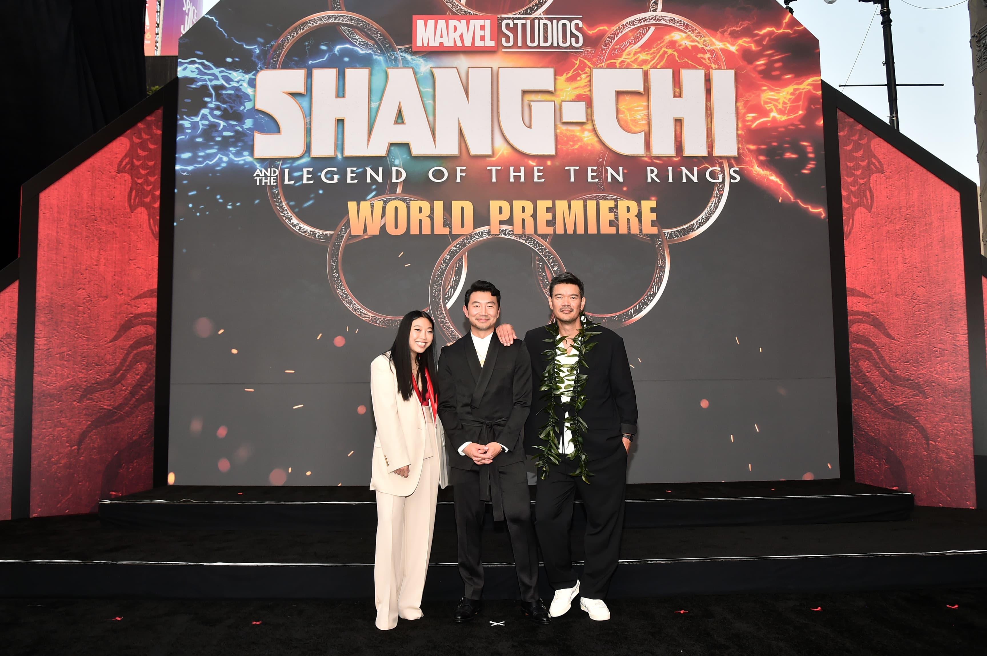 Shang-Chi: Confira as imagens da premiere e tapete vermelho