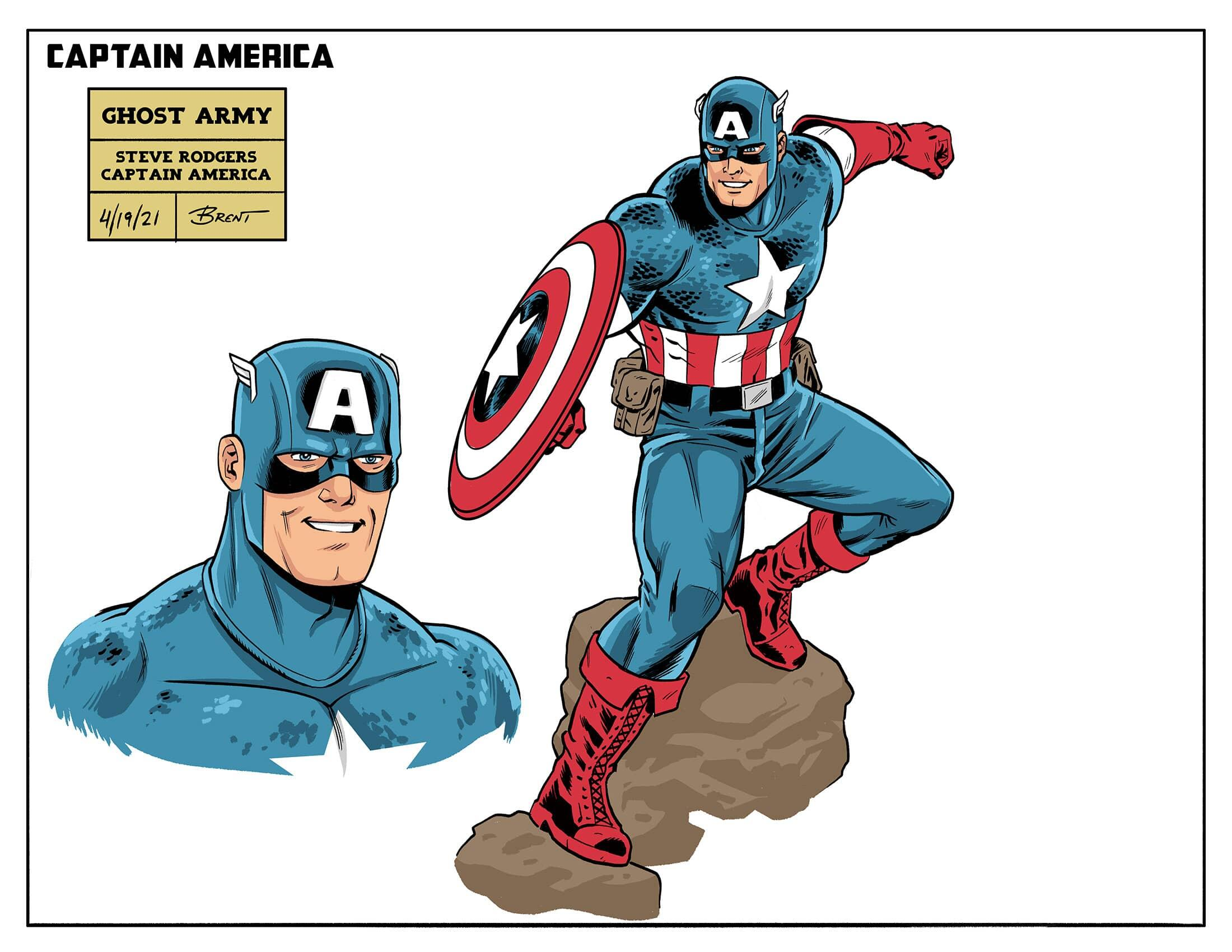 Steve Rogers and Bucky Barnes Fight the Undead in 'Captain America: The  Ghost Army'   Marvel