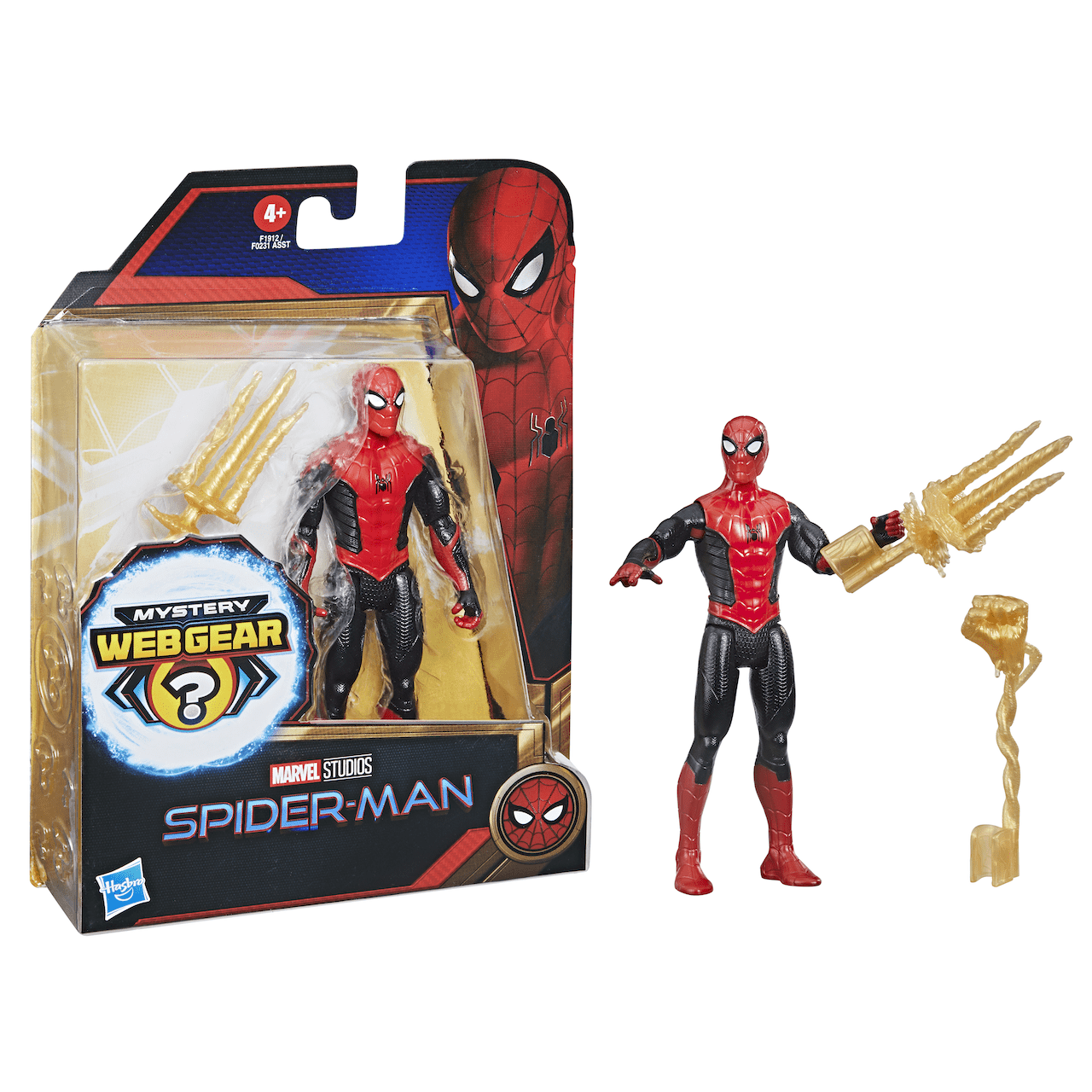 """Spider-Man 6"""" Black and Red Suit"""