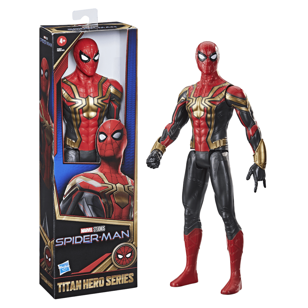 Marvel Titan Hero Series Spider-Man Black and Red Suit