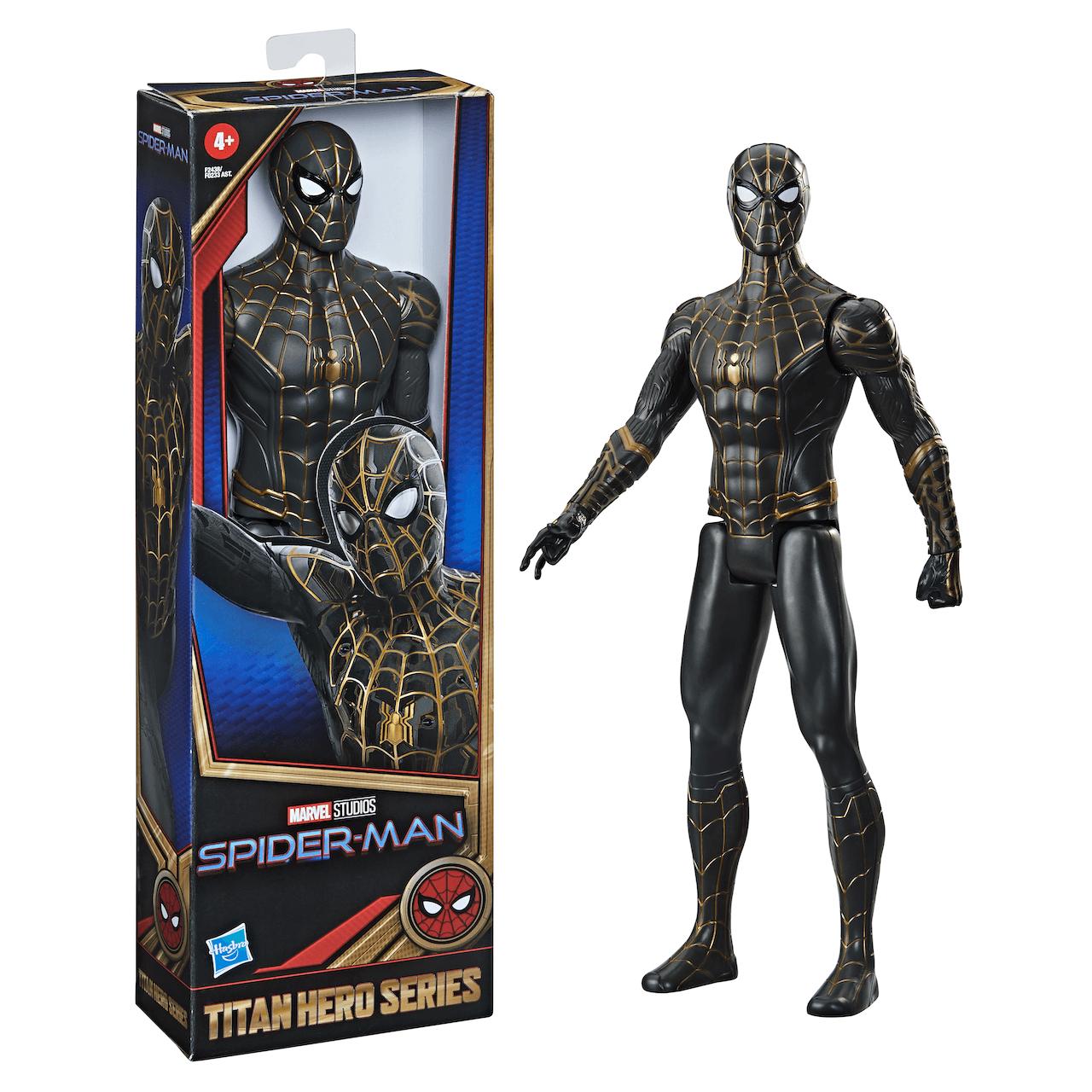 Marvel Titan Hero Series Spider-Man Black and Gold Suit