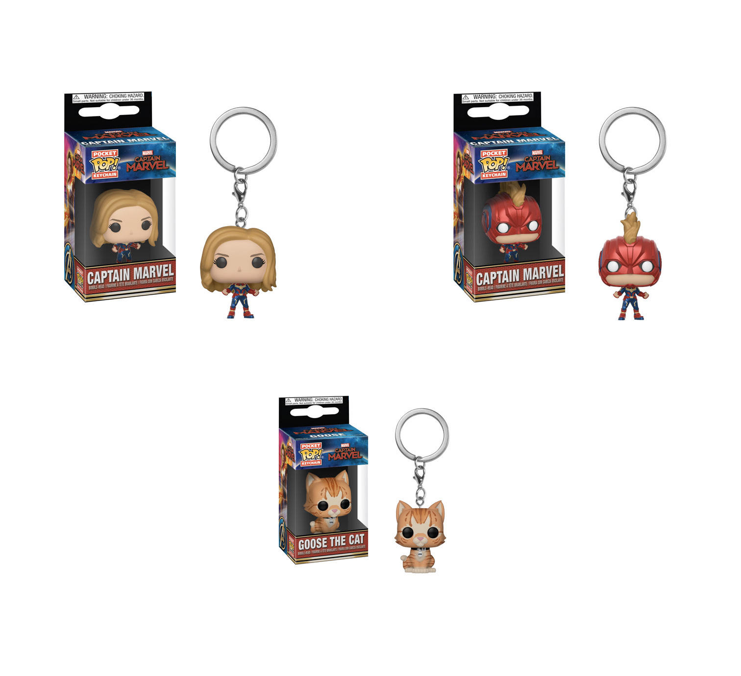 Pop! keychains