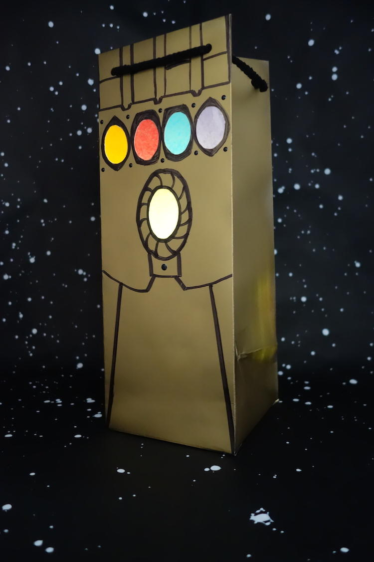 Infinity Gauntlet DIY Craft