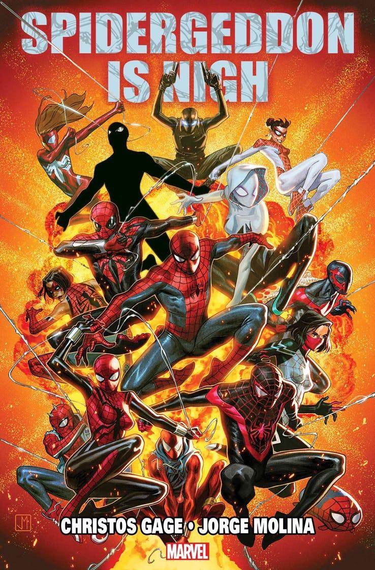 Spider-Geddon key art