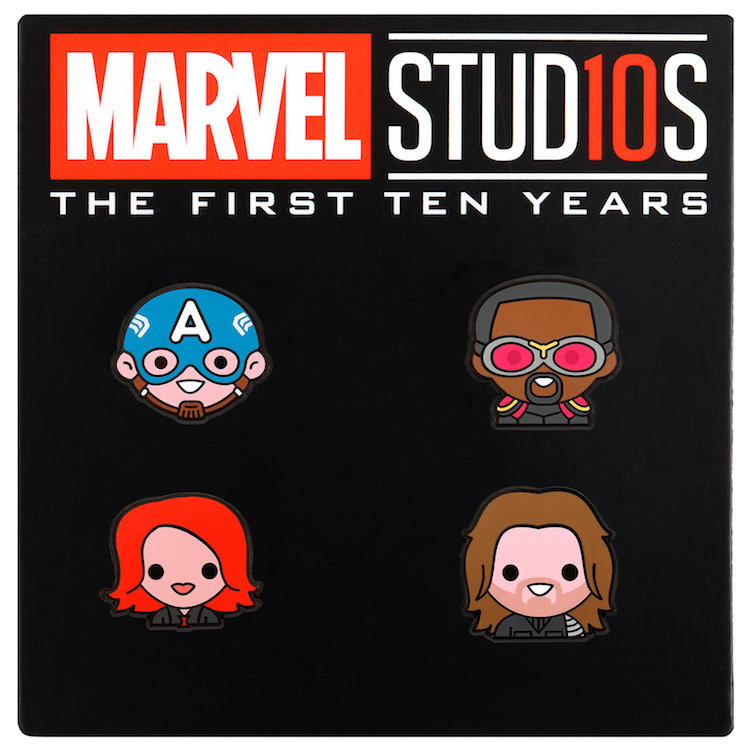 Marvel Studios' 10th Anniversary Pin Set by 100% Soft