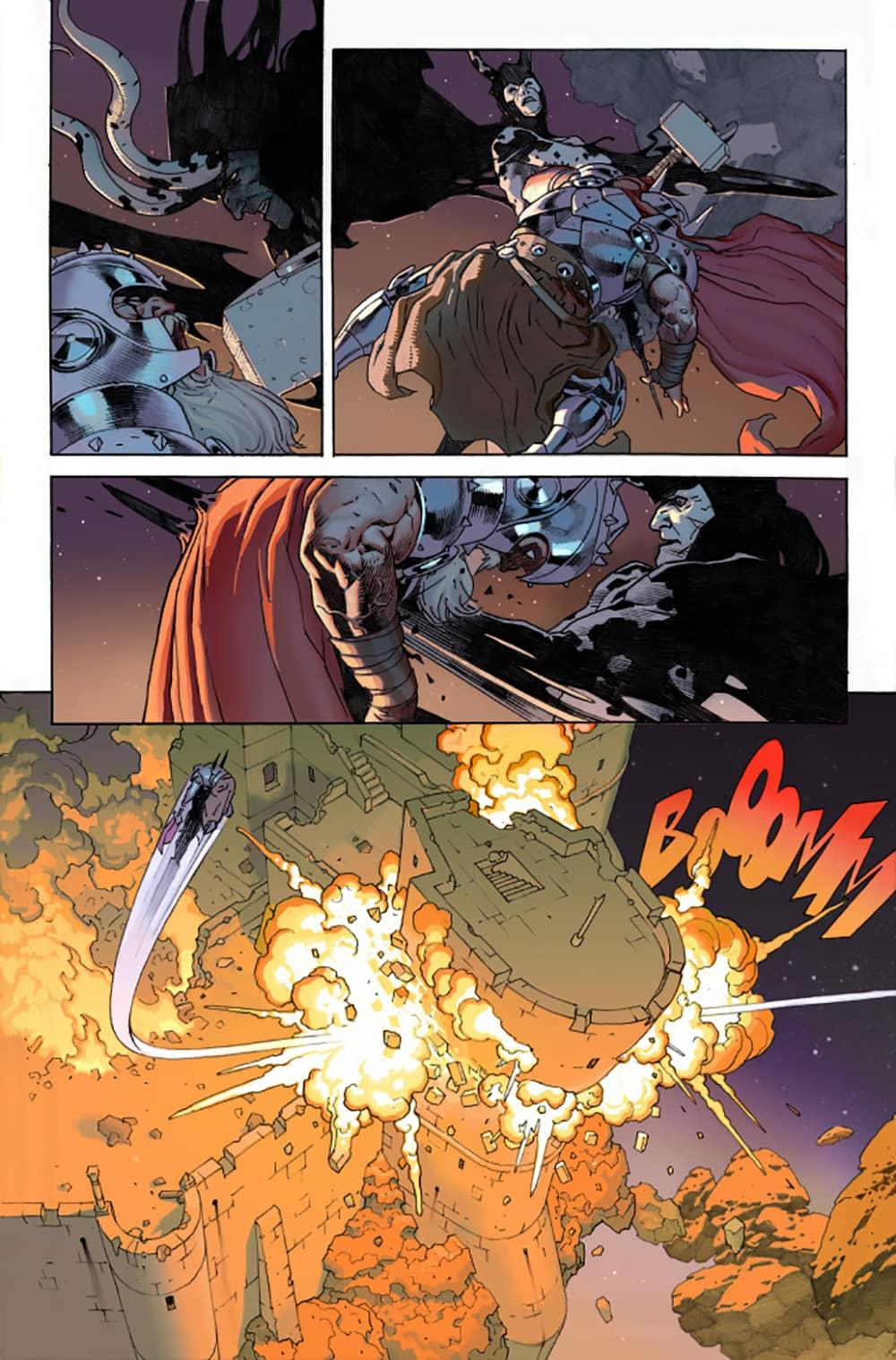 KING THOR #1 interiors by Esad Ribić and Ive Svorcina