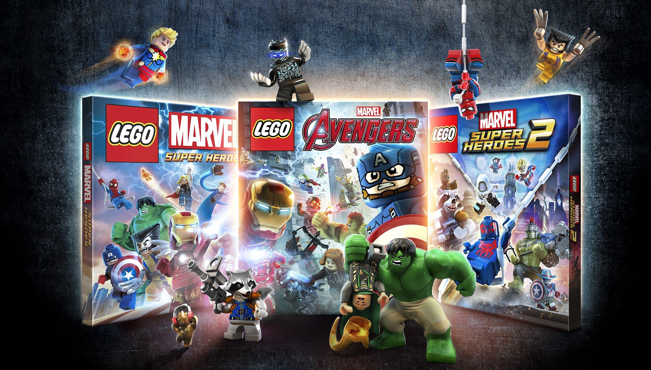 LEGO Marvel Collection Bundle   3 Game Bundle for PS4