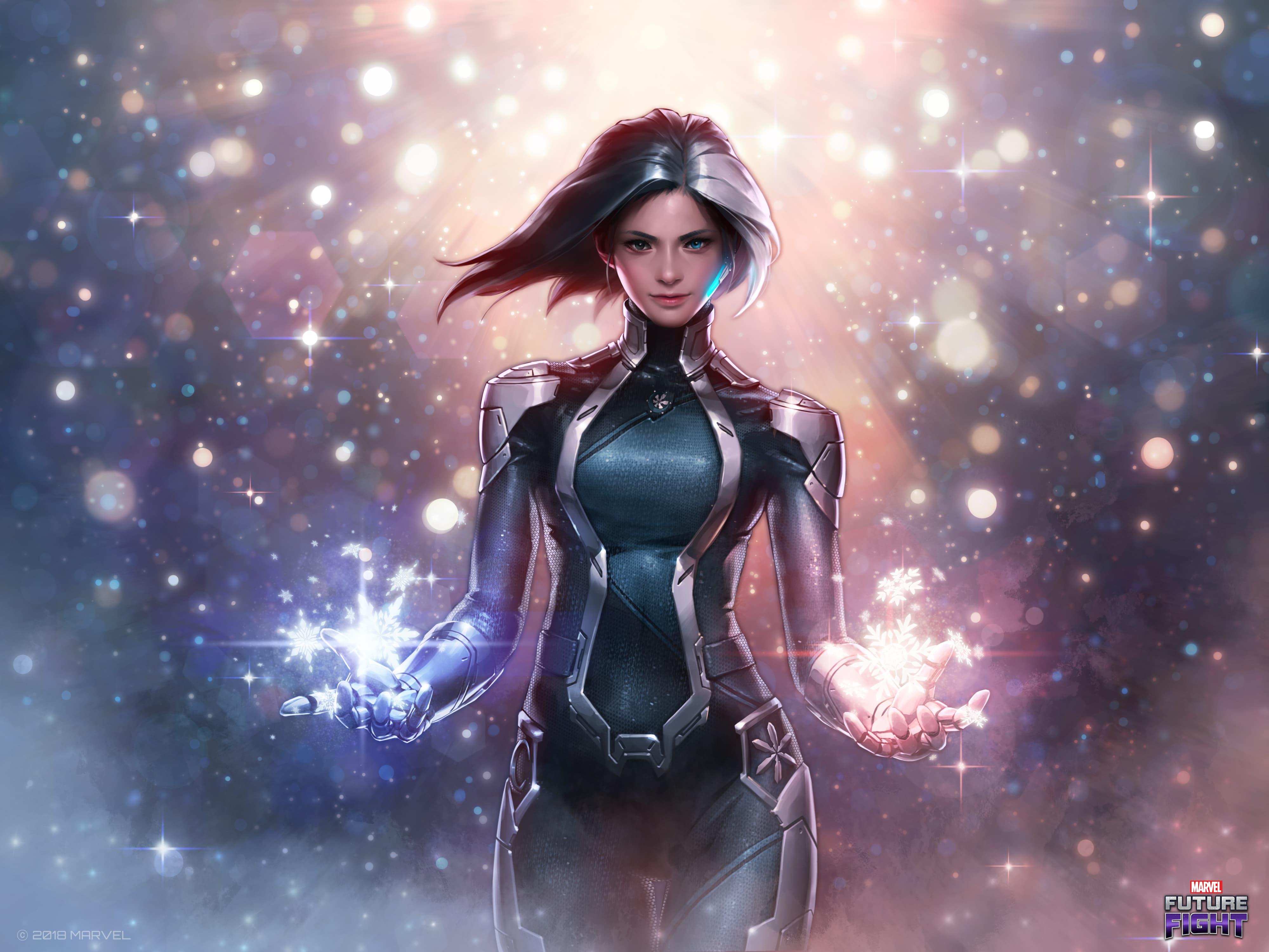 MARVEL Future Fight — Luna Snow Andromeda Suit